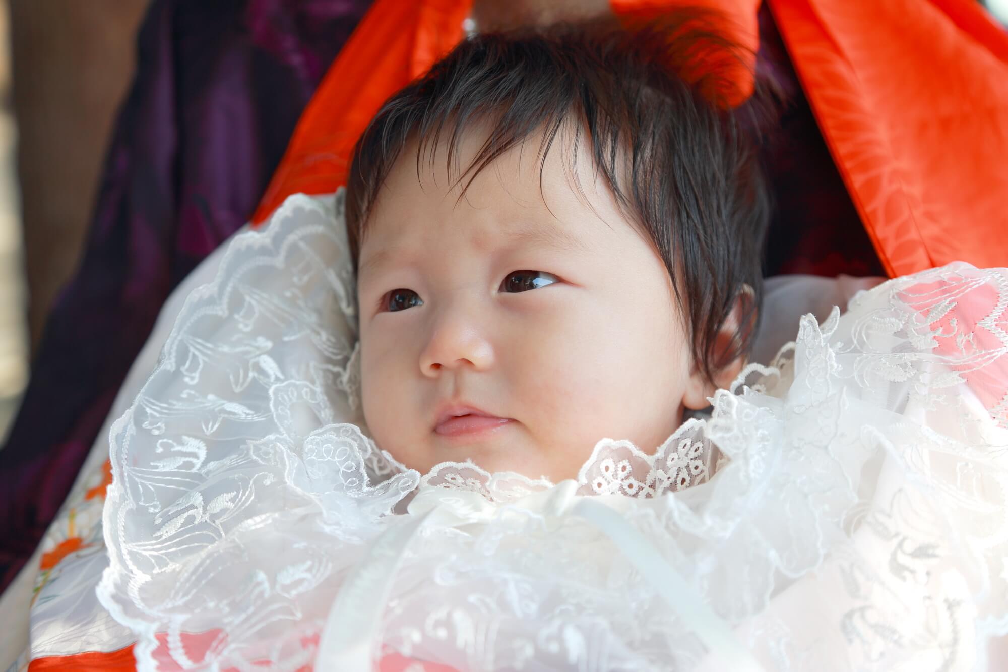 お宮参りはフォーマルレンタルドレス