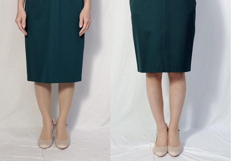ドレス着用画像1