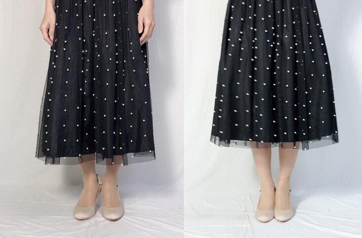 ドレス着用画像5