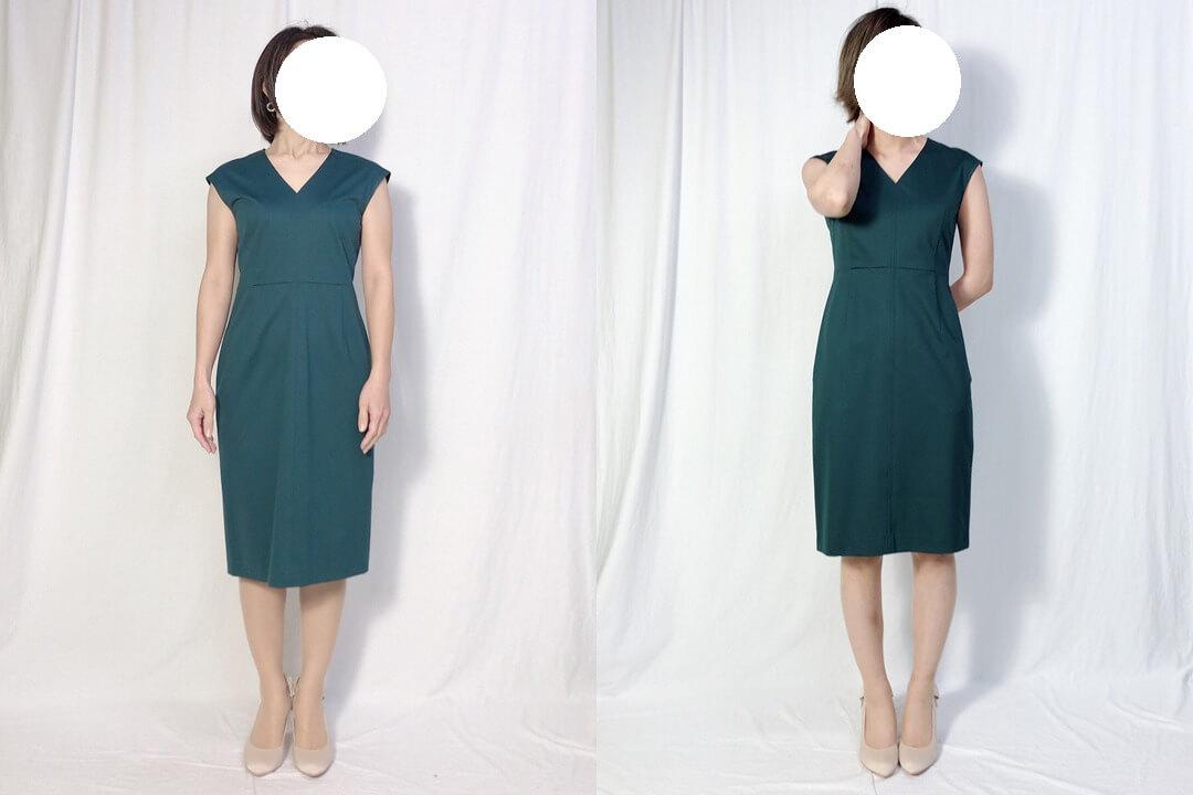 ドレス着用画像2
