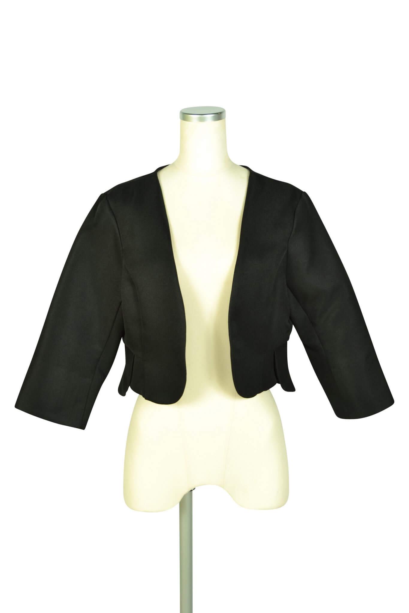 アイアム (I am...)シンプルブラックジャケット