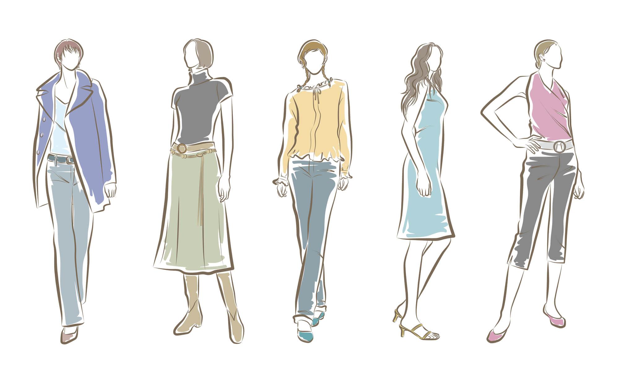 自分に合ったドレスを選べる