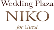 Wedding Plaza NIKO for Guest