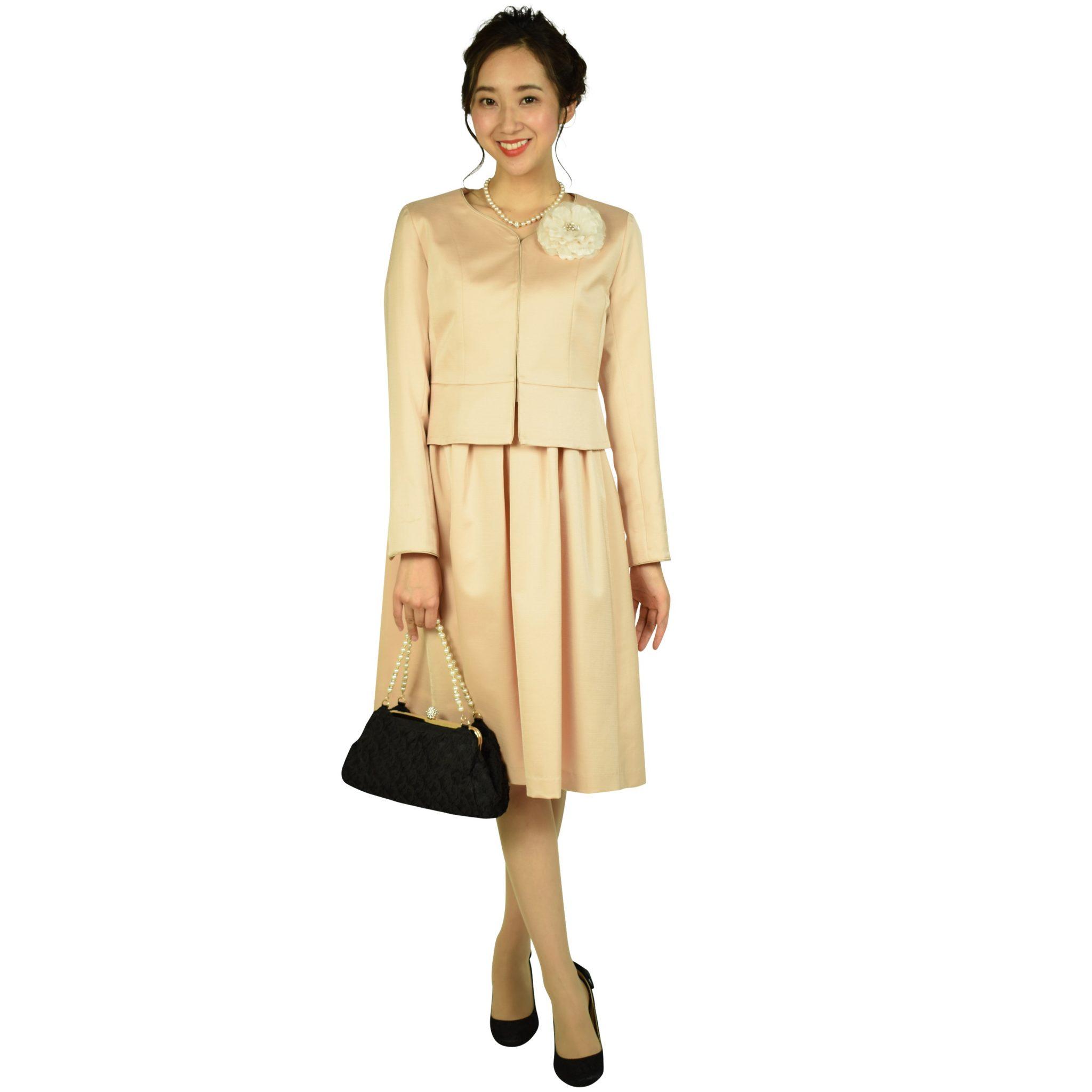 ディア プリンセス グログランピンクワンピーススーツセット